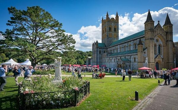 Buckfast Abbey 1 600x372 - Heritage and Genealogy