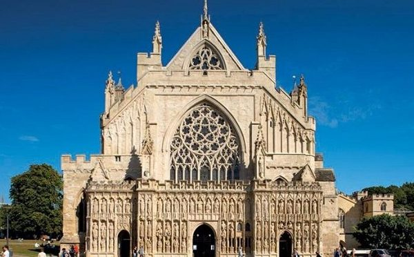 Exeter Cathedral 600x372 - Must See Icons