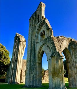 Glastonbury Abbey Small - Explore More